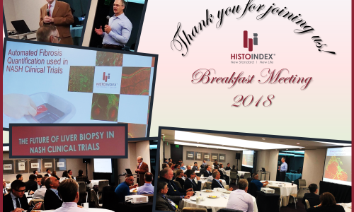 LinkedIn Post HistoIndex Breakfast Meeting 2018